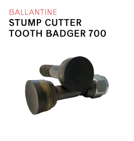 Ballantine Stump Cutter Tooth Badger 700