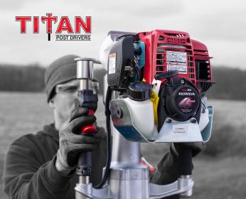 Titan Post Driver