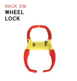 Rack Em Wheel Lock