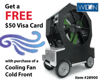 Wilton Cold Front Cooling Fan