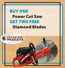 Diamond Products Power Cut Saw