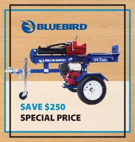 Bluebird Log Splitter