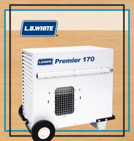 LB White Tent Heater