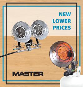 Master Heater Propane Tank Top