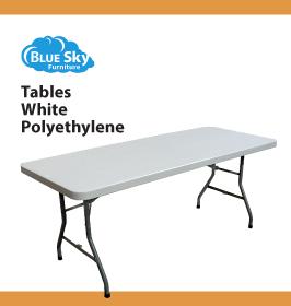 Blue Sky Furniture Table 30x96in Polyethylene