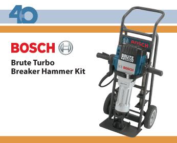 Bosch Brute Turbo Breaker Hammer Kit