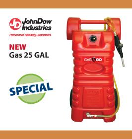 John Down Industries Gas Buddy 25 GAL Poly