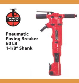 Tamco Paving Breaker 60 LB 1-1/8in Shank