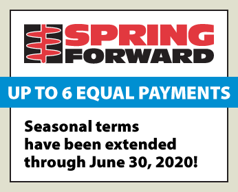 Spring Forward Terms Extended