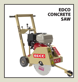EDCO Concrete Saw