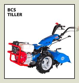 BCS Tiller