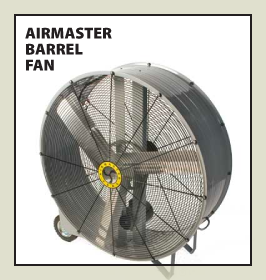 AirMaster Barrel Fan