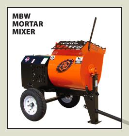 MBW Mortar Mixer