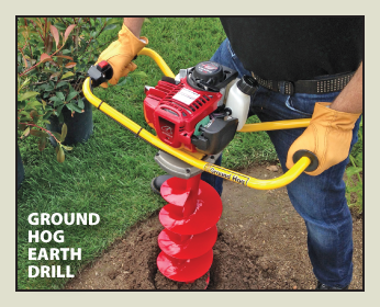 Ground Hog Earth Drill
