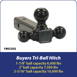 Buyers Products Tri-Ball Hitch