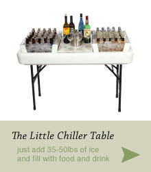 The Little Chiller Table